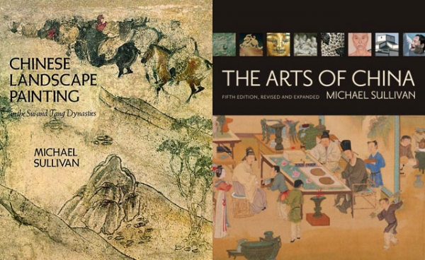 "Two of the late Michael Sullivan's works on Chinese art are ""Chinese Landscape Painting: In the Sui and Tang Dynasties"" (U. of California Press, 1980) and the seminal ""Arts of China"" (U. of California Press, 5th edition, 2009)."