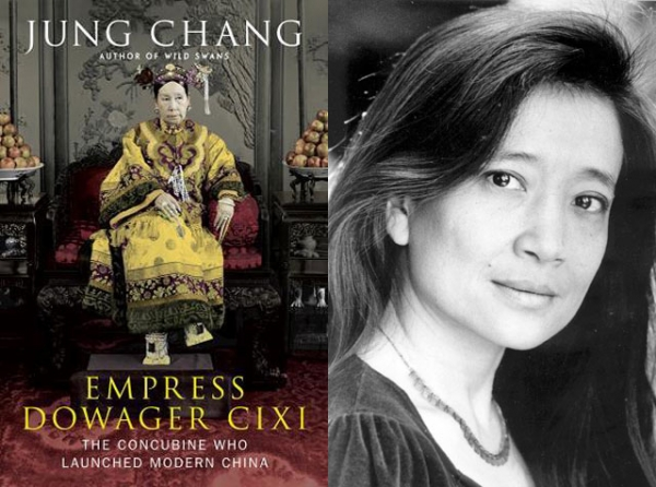 """Empress Dowager Cixi: The Concubine Who Launched Modern China"" (Alfred A. Knopf, 2013) by Jung Chang (R). (Lisa Weiss)"