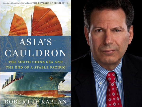 """Asia's Cauldron: The South China Sea and the End of a Stable Pacific"" by Robert D. Kaplan (Random House, 2014). (Author photo: Maryna Marston)"