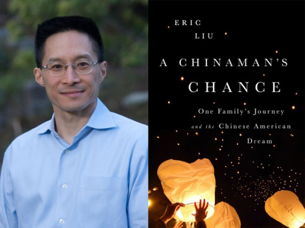"Eric Liu (L), author of ""A Chinaman's Chance: One Family's Journey and the Chinese American Dream"" (PublicAffairs, 2014). (Author photo: Alan Alabastro)"