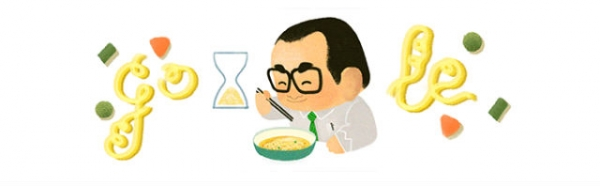The Google Doodle on March 5, 2015 paid tribute to the late Momofuku Ando. (Google)