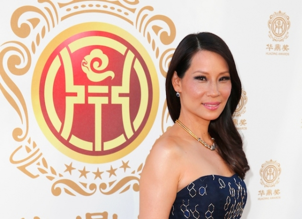 Lucy Liu attends the Huading Film Awards on June 1, 2014 at Ricardo Montalban Theatre in Los Angeles, California. (Joe Scarnici/Getty)