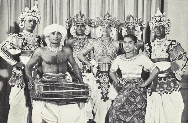 Sri Lanka's Ceylon National Dancers. (Asia Society)