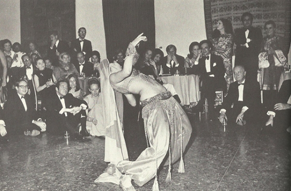 Carolina Varga Dinicu performs at Asia Society in 1972. (Paul Cordes/Asia Society)