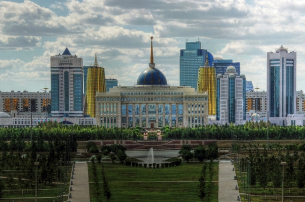 The structure in Astana, Kazakhstan's newish capital, is one of the world's largest government buildings. (Mariusz Kluzniak/Flickr)