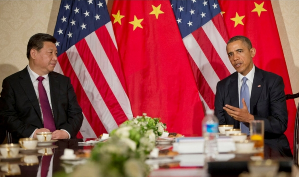 President Xi Jinping of China and President Barack Obama of the United States meet in the Netherlands in 2014. (U.S. Embassy The Hague/Flickr)