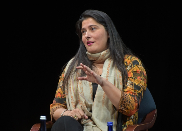 Sharmeen Obaid-Chinoy, an Asia Society Asia 21 Young Leader and Asia Game Changer, won an Academy Award for Best Documentary last month. (Elsa Ruiz/Asia Society