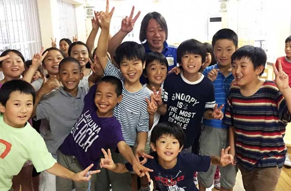 Students at a primary school in Japan. (Center for Global Education/Asia Society)