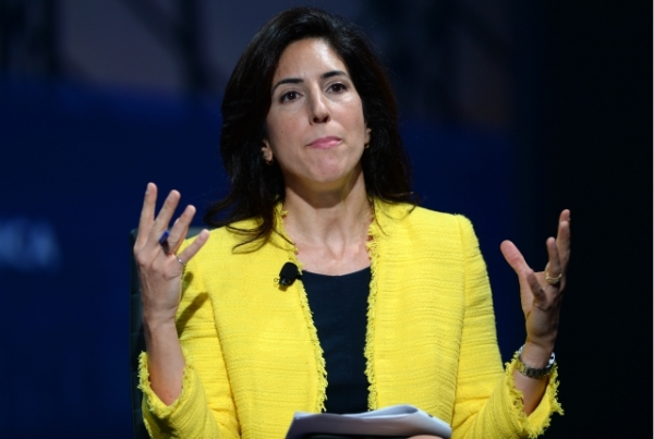 Rana Foroohar speaks at the 2016 Concordia Summit - Day 1 at Grand Hyatt New York. (Riccardo Savi/Getty Images)
