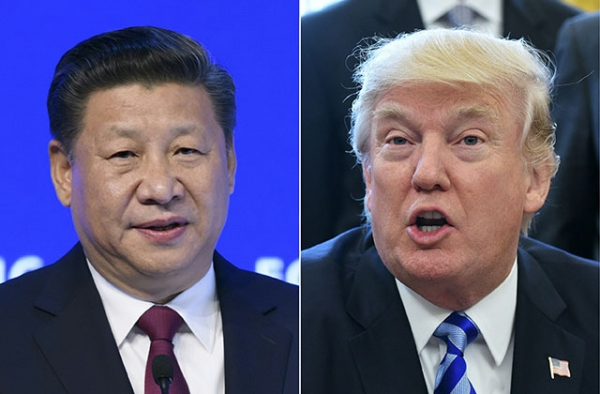 Chinese President Xi Jinping will meet American President Donald Trump in Florida on Thursday for a two-day summit. (Fabrice Coffini/AFP/Getty Images)