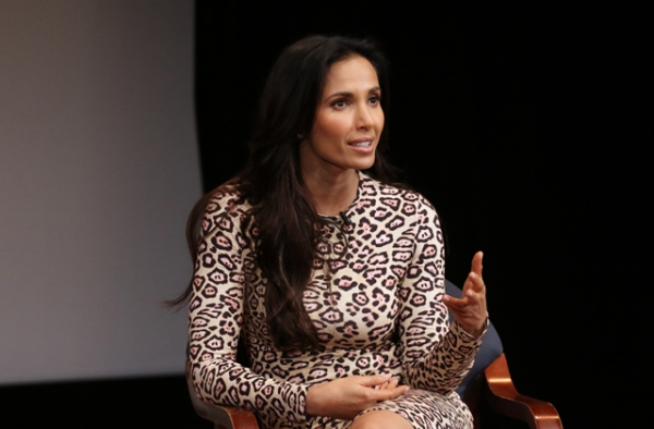 Padma Lakshmi at Asia Society in New York. (Ellen Wallop/Asia Society)