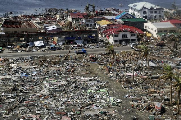 Tacloban city was the worst hit by Super Typhoon Haiyan, which devastated the central Philippines on November 8, 2013. (Marcel Crozet/ILO)