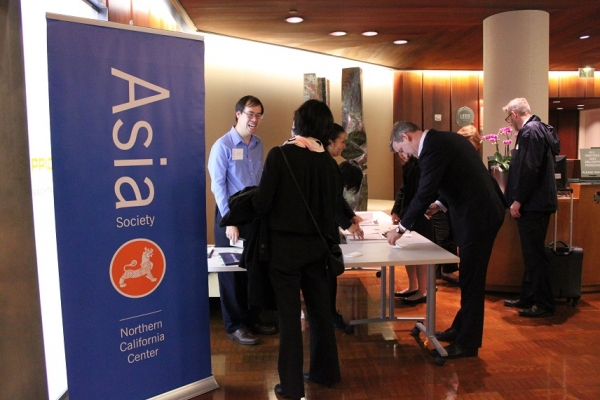 ASNC staff were enthused to check-in guests at this sold out event. (Asia Society)