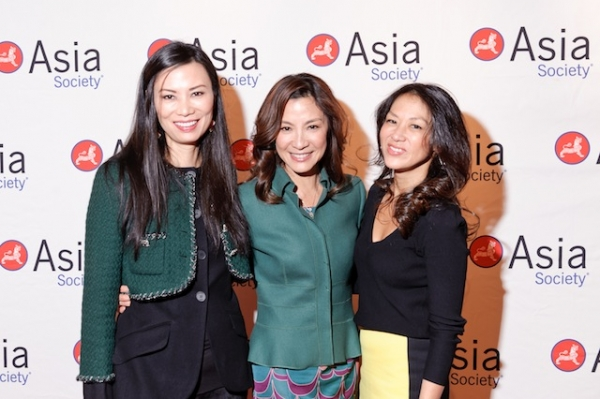 "L to R: Wendi Murdoch, Michelle Yeoh and Amy Chua, author of ""The Battle Hymn of the Tiger Mother."" (C. Bay Milin)"
