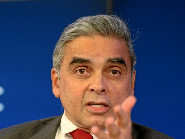 Kishore Mahbubani at the World Economic Forum in Davos, Switzerland on January 27, 2012. (World Economic Forum/Flickr)