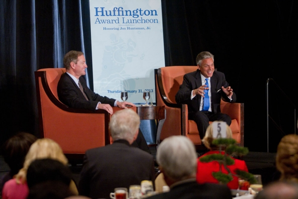 Huntsman recalls a time when it would have been unthinkable for Taiwan and China to be trading freely. (Richard Carson)