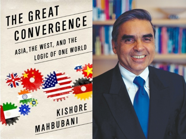 "L: ""The Great Convergence"" by Kishore Mahbubani (PublicAffairs). R: The author."