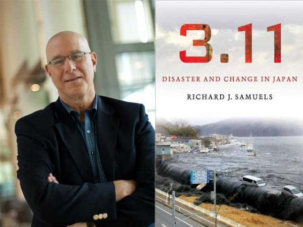 Richard Samuels (L) and the cover of his new book (R). (Richard Samuels)