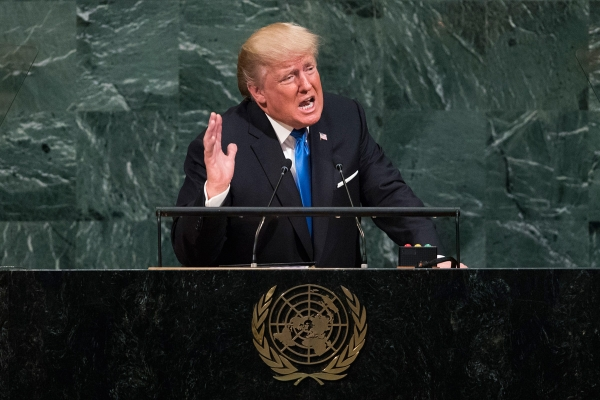 Donald Trump Addresses the United Nations General Assembly