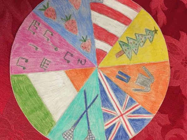 Cultural mandalas made by students in Sandra Makielski's class.