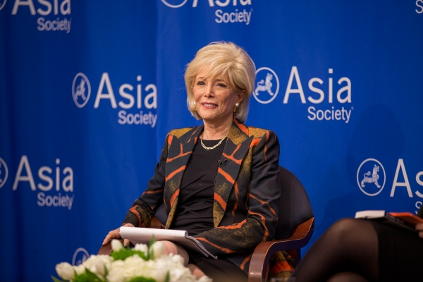 Lesley Stahl at Asia Society