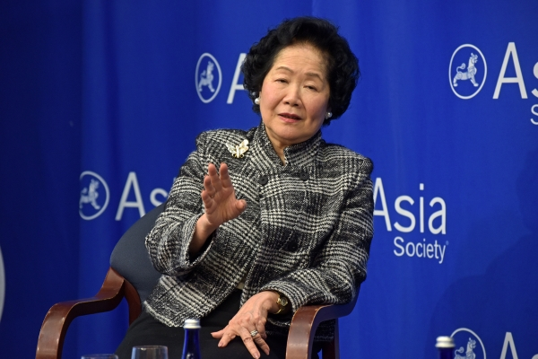 Former Chief Secretary of Hong Kong Anson Chan
