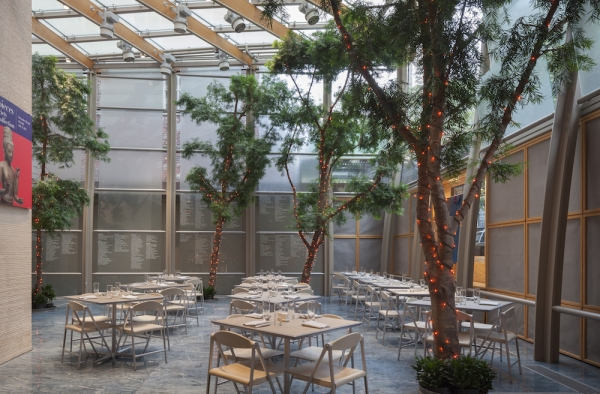 The Garden Court Cafe at Asia Society