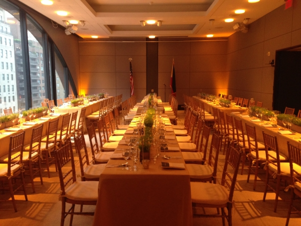 A formal affair at Asia Society