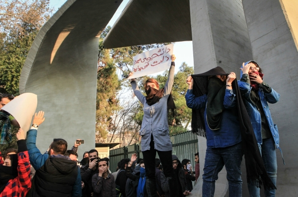 Protests have erupted in several Iranian cities in the last year