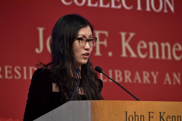 The novelist Weike Wang