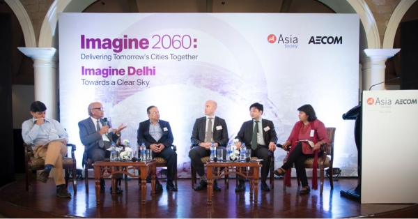 Panelists at Imagine Delhi