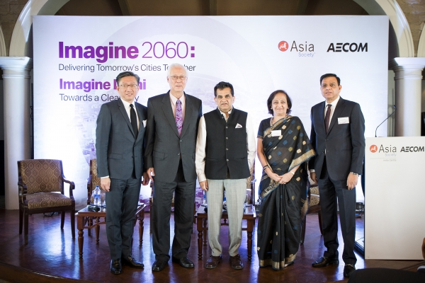 Keynote speakers at Imagine Delhi