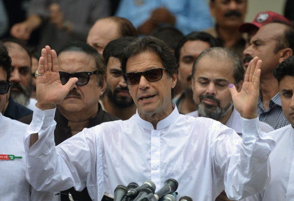Imran Khan is elected Pakistan's newest prime minister