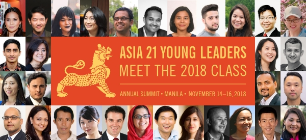 Asia 21 Class of 2018