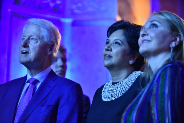 Bill Clinton, Indra Nooyi, Josette Sheeran