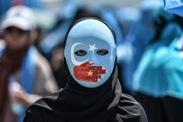 Uighurs protest China's policies in Xinjiang
