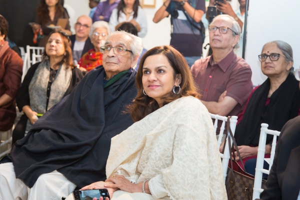 Akbar Padamsee and Sangita Jindal