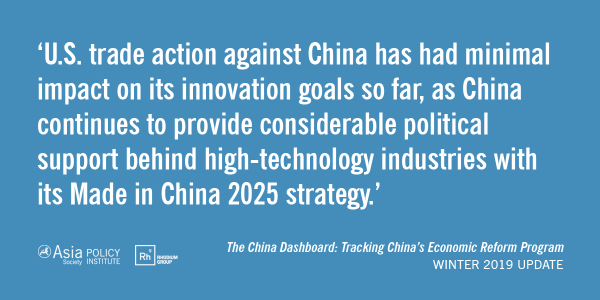 The China Dashboard Quote Card