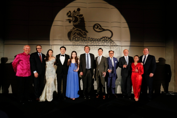 Honorees and Presenters at the Asia Society Southern California Annual Gala