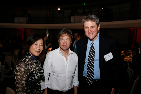 Janet Yang, Nicolas Berggruen, and Tom Nagorski