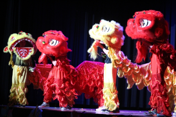 Chinese New Year Festival, Lion Dance (Callyn Baum)