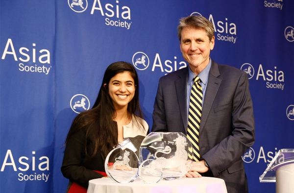 Goldman Sachs accepts Asia Society Award