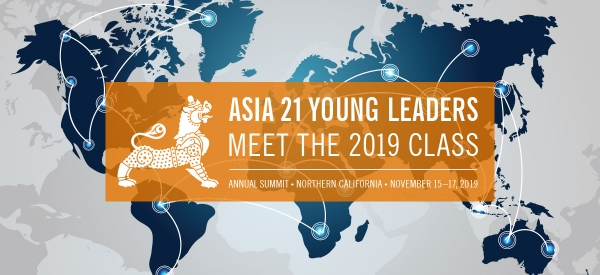 Asia 21 Young Leaders Class of 2019 - Asia Society