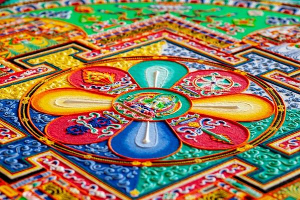 Tibetan Buddhist Monks Return for Fifth Year to Create Sand Mandala, Present Sacred Music and Dance   Asia Society