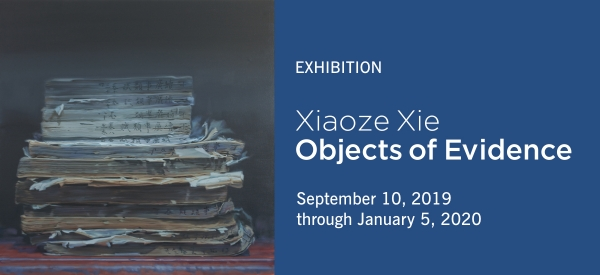 Xiaoze Xie: Objects of Evidence, opening September 10