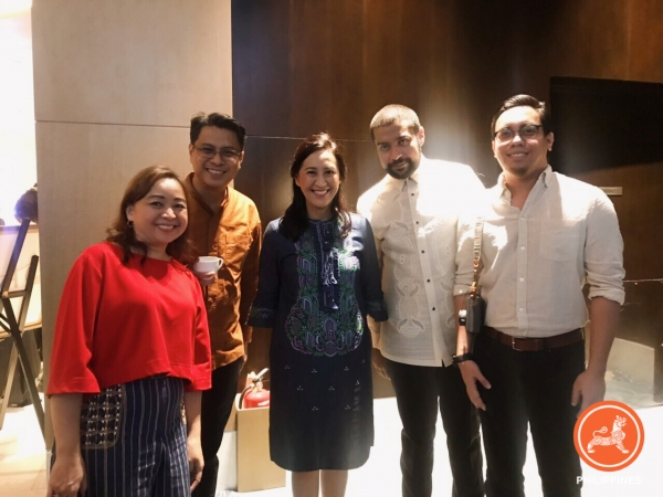 With Guest of Honor, Mayor Joy Belmonte of Quezon City (L-R: Joy Alampay, Asia Society Philippines; Roby Alampay, Business World; Joy Belmonte, Mayor of Quezon City; Rajiv Daswani, RPD Publications)