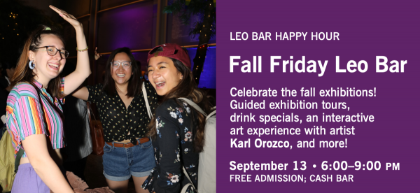 Asia Society's Free Friday Leo Bars return on September 13