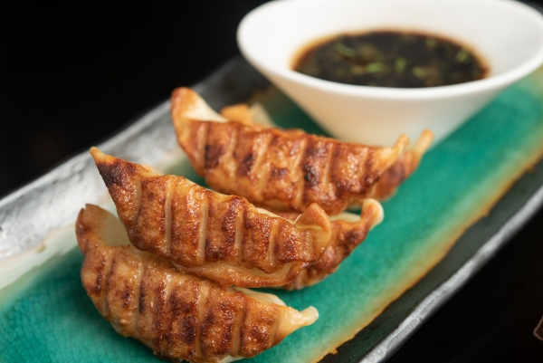 Garden Court Cafe Pan Fried Chicken Gyoza