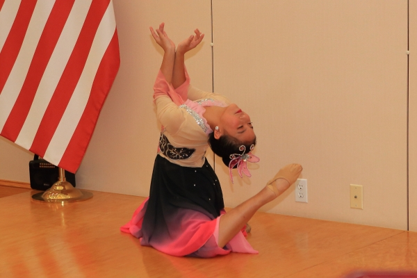 Dancer at Chinese Consulate in San Francisco