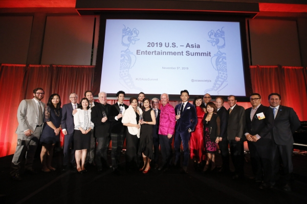 2019 Asia Society's Entertainment Game Changer Awards Dinner